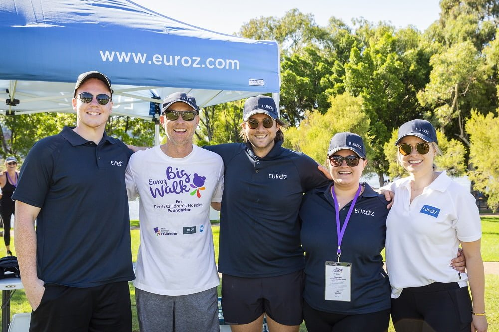 The Euroz Big Walk for Perth Children's Hospital Foundation