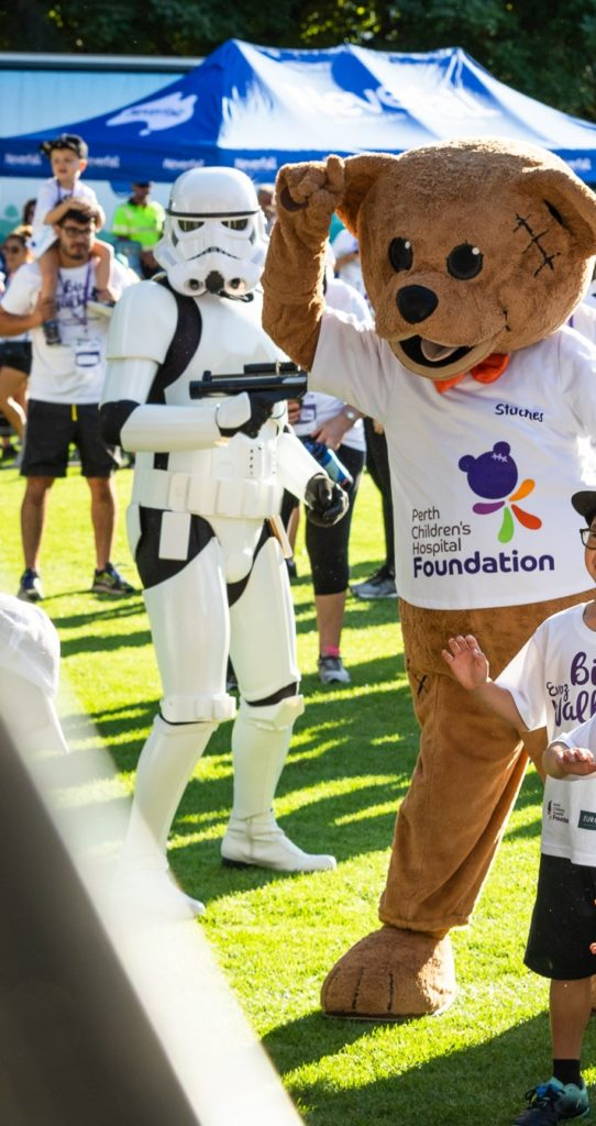 The Euroz Big Walk for Perth Children's Hospital Foundation - stiches
