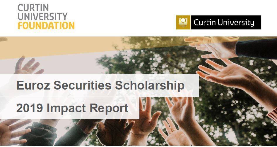 Euroz Hartleys Securities Limited Scholarship 2019 Impact Report